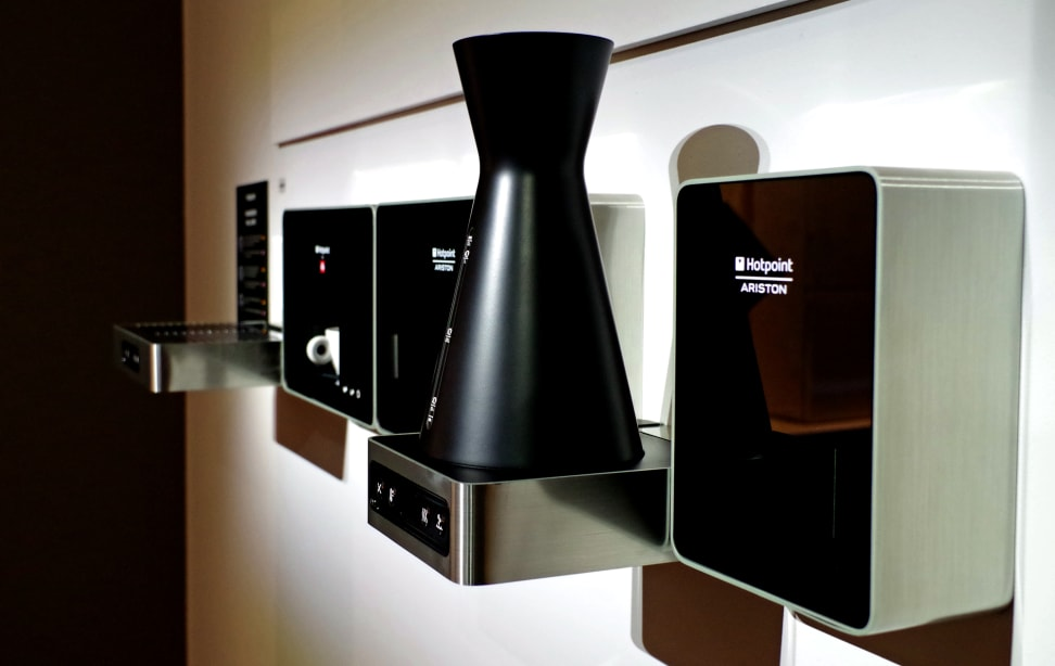 Hotpoint's wall-mounted small appliance prototypes