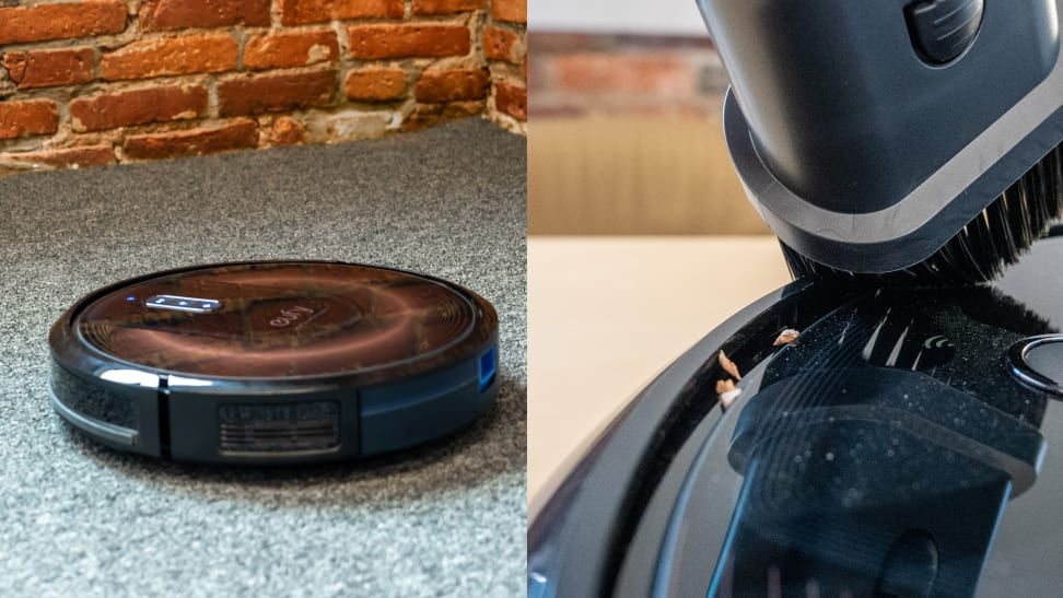 Cleaning your robot vacuum will help it run longer.