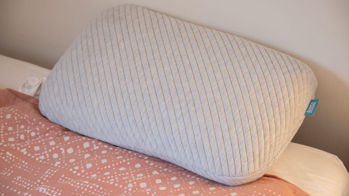 Leesa Pillow on a mattress
