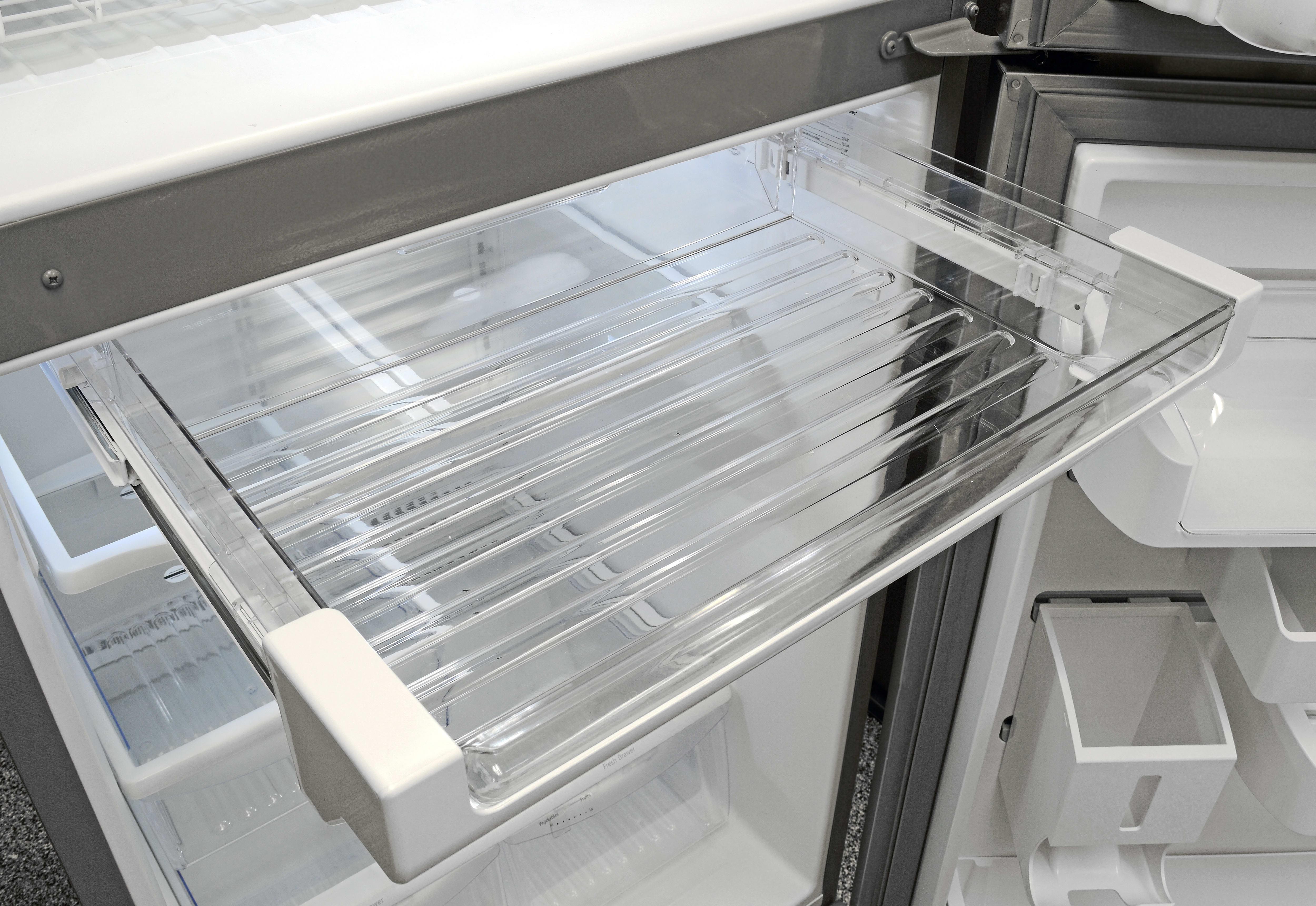 refrigerator beverage drawer product single freezer air