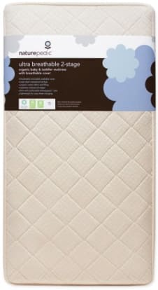 Product Image - Naturepedic Ultra Breathable 2-Stage Organic Crib Mattress