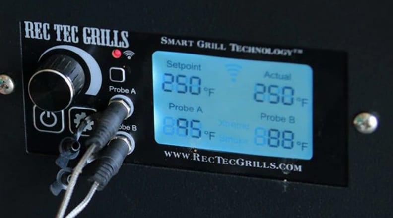 Smart grill display