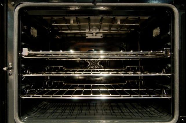 Benchmark wall oven cavity