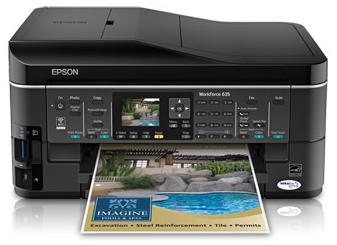 Product Image - Epson WorkForce 635