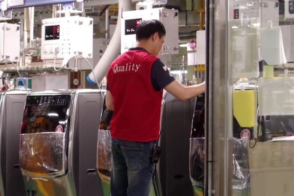 LG quality control