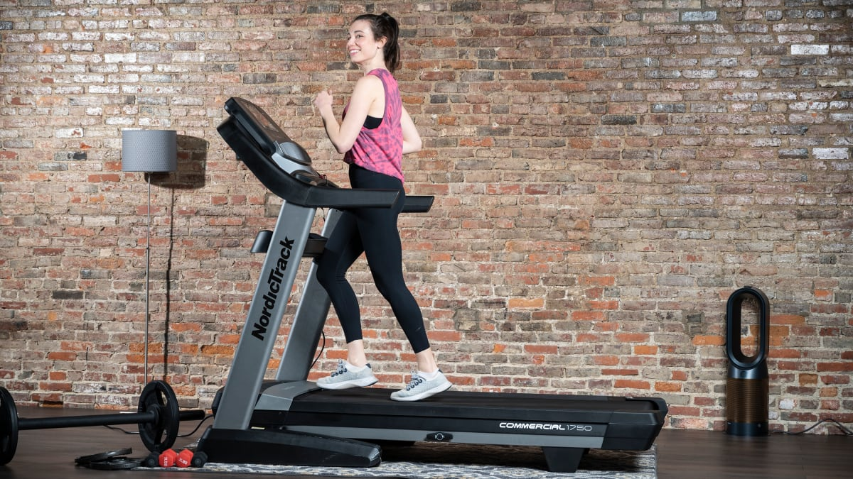The NordicTrack Commercial 1750 is my favorite treadmill ever