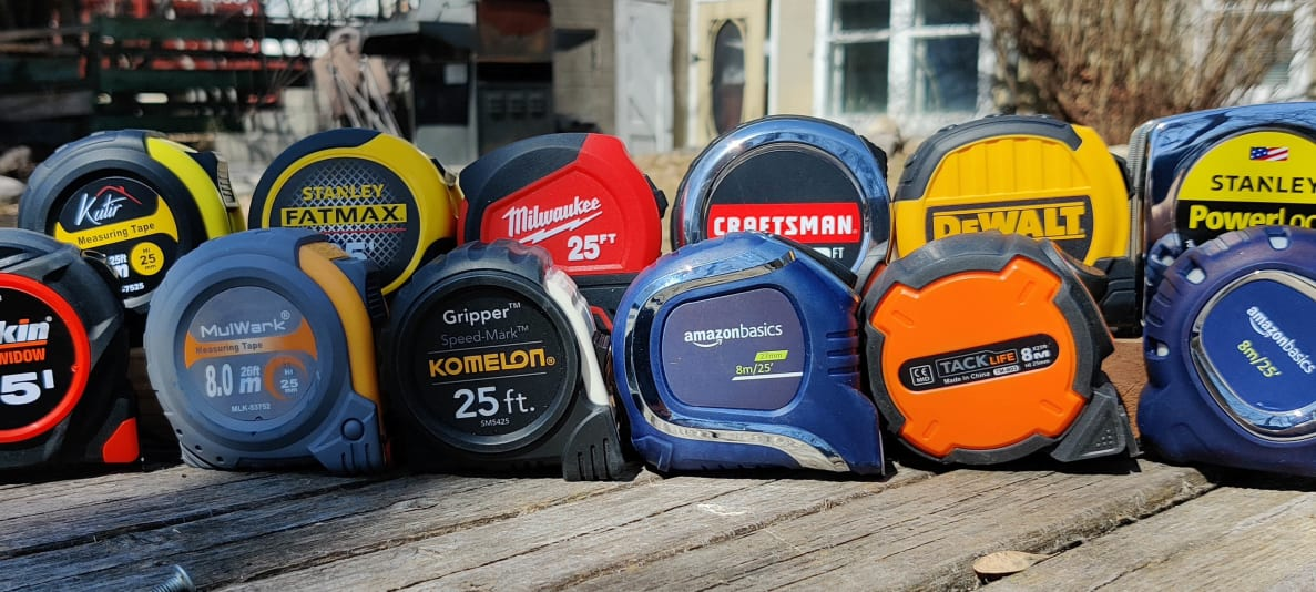 The best tape measures from Stanley, Komelon, Ryobi, and Craftsman