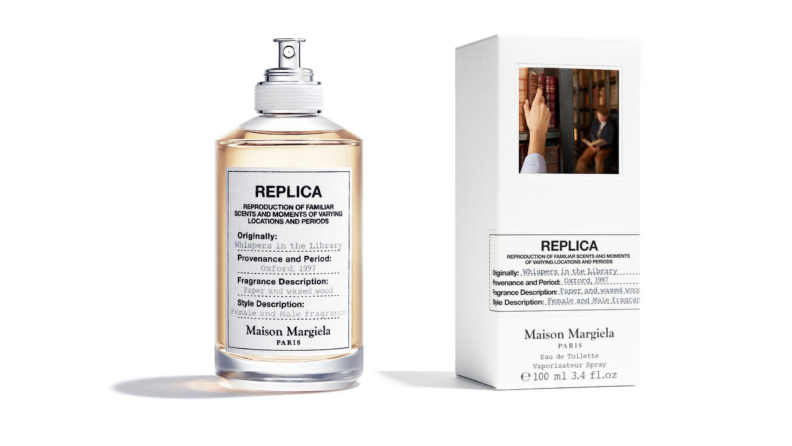 The Whispers in the Library Eau de Toilette from Maison Margiela.