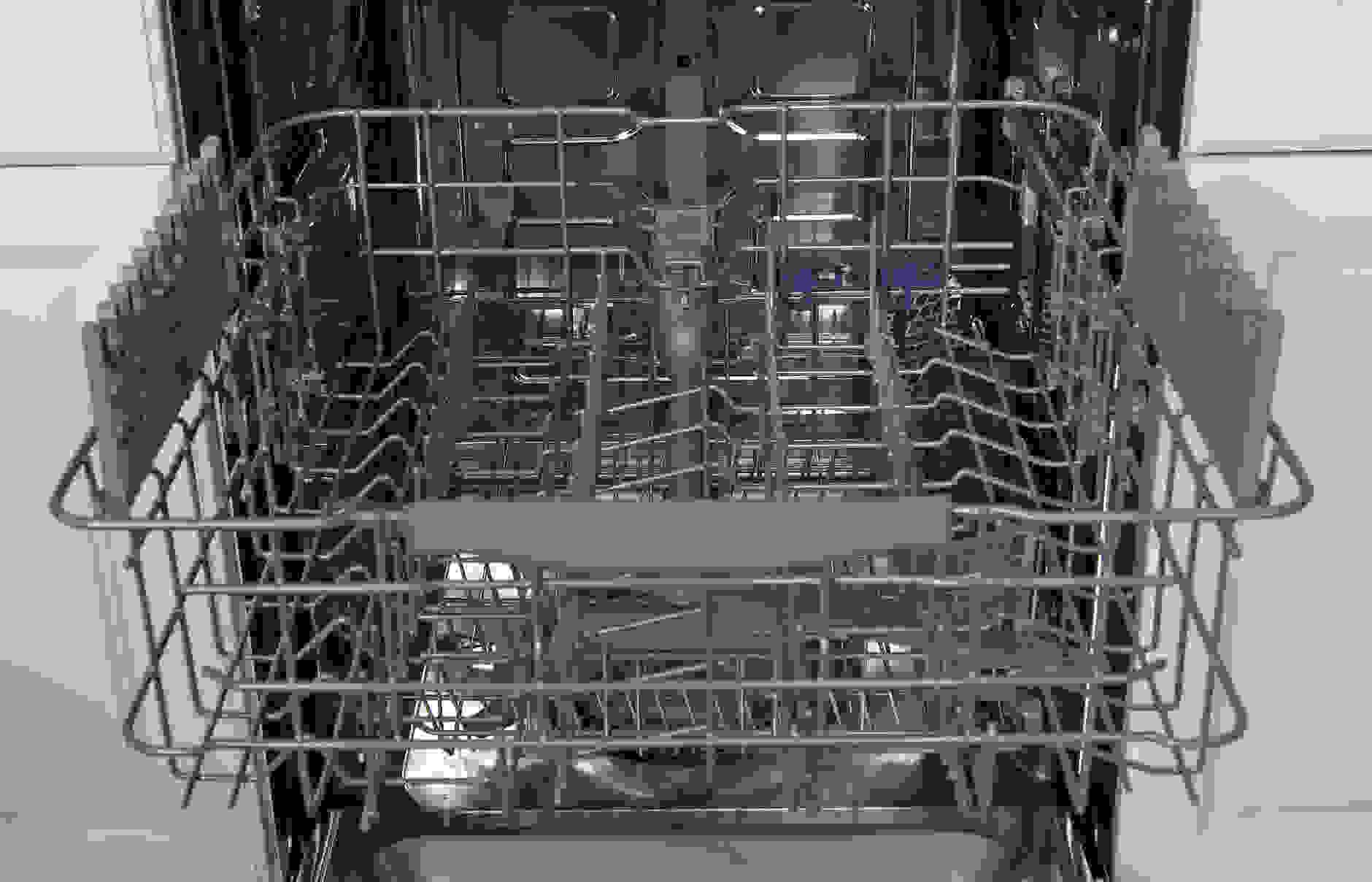 Samsung DW80F600UTS's top rack