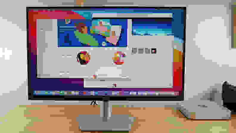 Dell S2721QS with Mac Mini