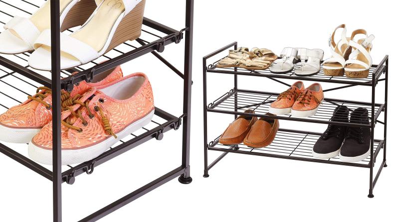 Wire Shoe Shelf