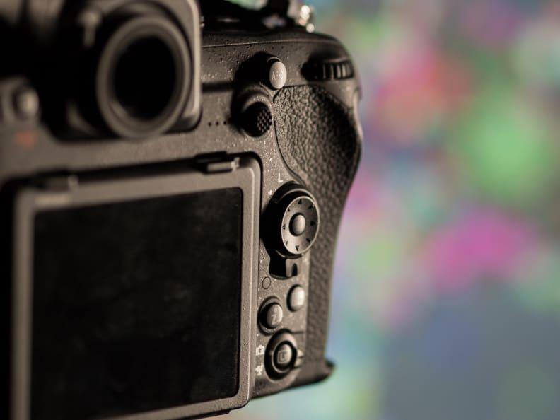 Nikon D500 Rear Controls
