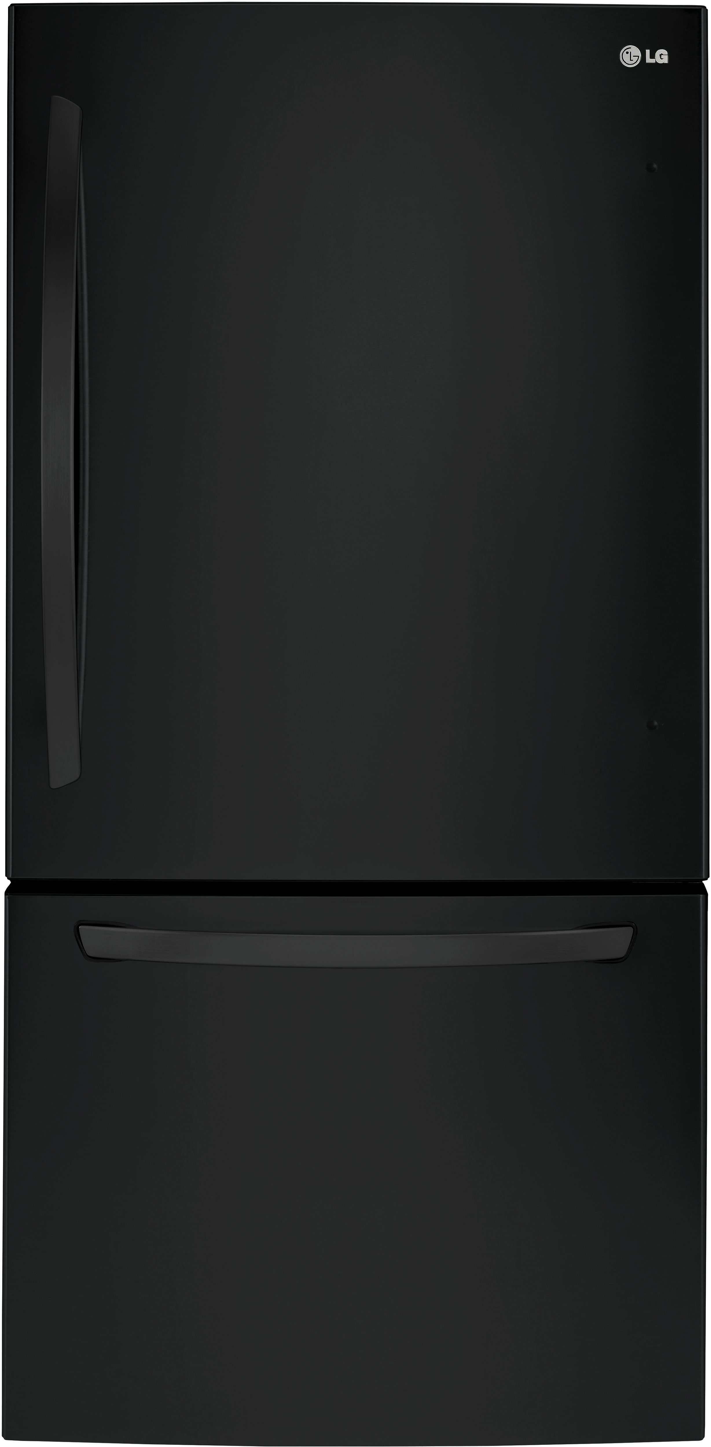 The LG LDCS24223B comes with a smooth black finish, and will likely cost the same as the white model.