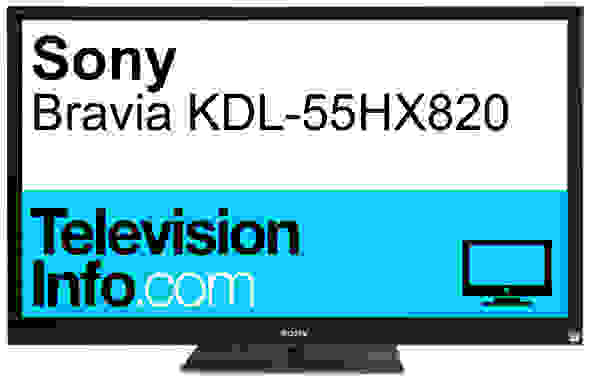 Product Image - Sony Bravia KDL-55HX820