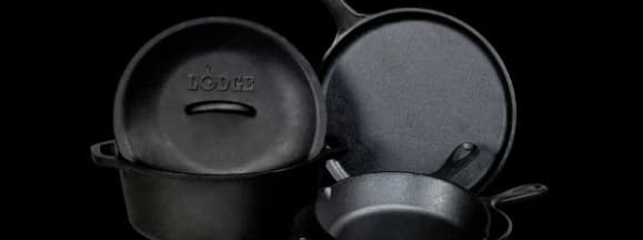 Lodge logic cast iron set ovi