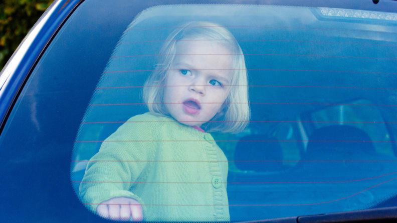 Kid in a hot car