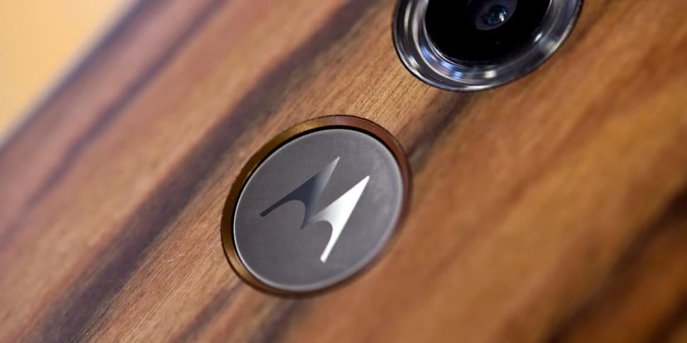 The Motorola Moto X (2014) smartphone
