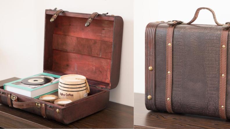 Vintiquewise suitcase