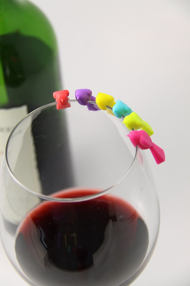 Bird Wine Glass