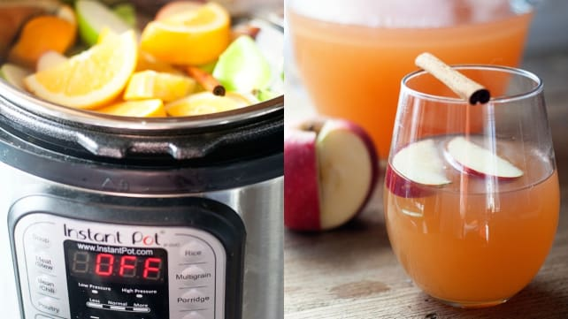 Pressure Cooker Apple Cider