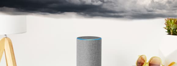 Amazon echo weather hero