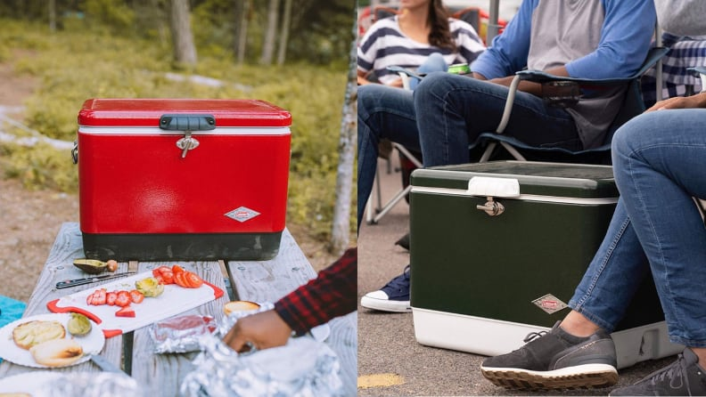 The most popular coolers on Amazon - Coleman steel belted