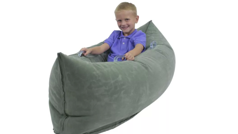 Inflatable peapod