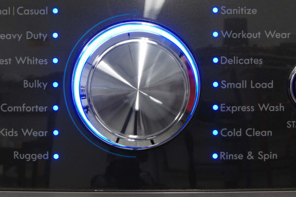 This Kenmore has every cycle under the sun, including Sanitize.