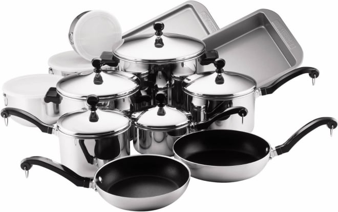 Product Image - Farberware Classic 17-Piece Cookware Set