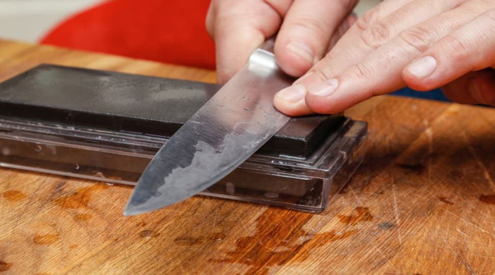 How to sharpen a chef's knife