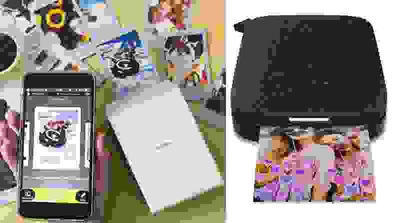 HP Sprocket and FujiFilm portable printers
