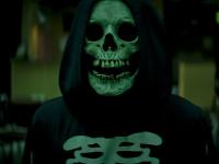 A killer in a skull mask terrorizes Shadyside in 'Fear Street.'