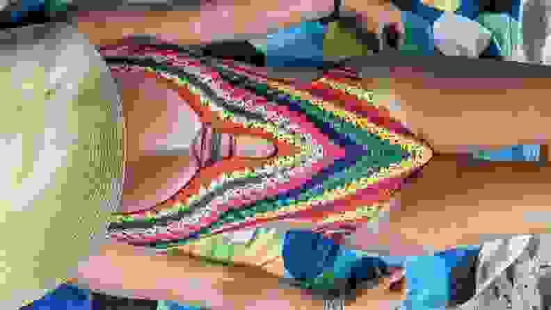 Shein rainbow one-piece