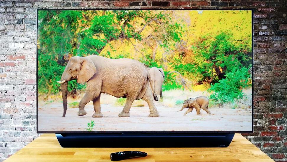 LG OLED55C8PUA 4K TV
