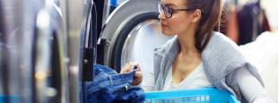 Laundromat laundry hero