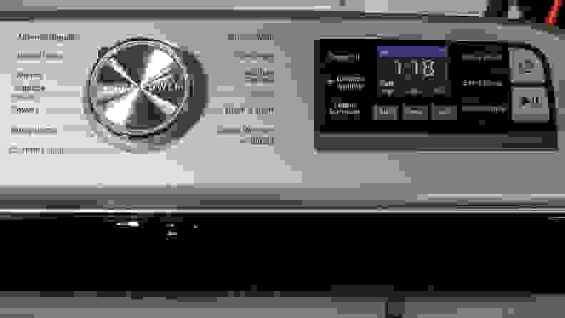 Maytag MVW7232HW Controls