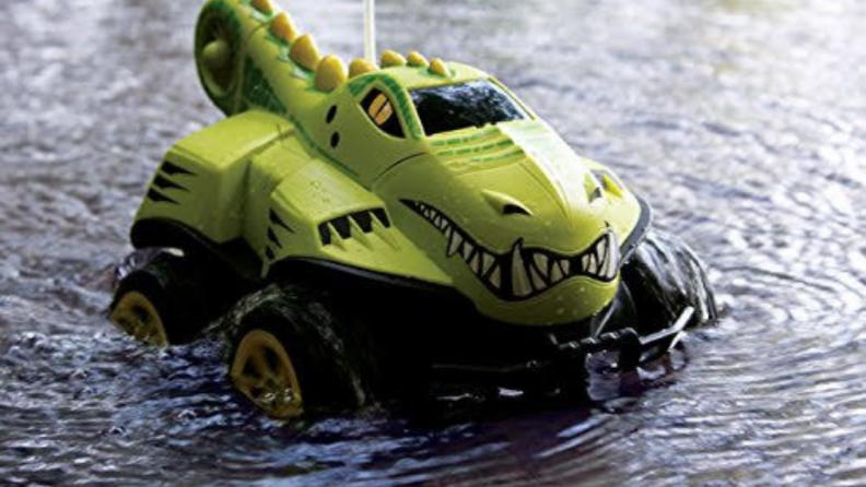 Kid Galaxy Mego Morphibian All-Terrain Remote Control Car