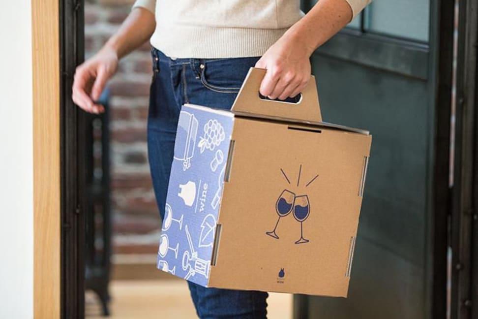 Blue Apron Wine box