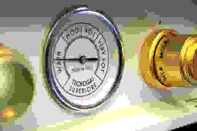 Tecnogas Superiore temperature gauge