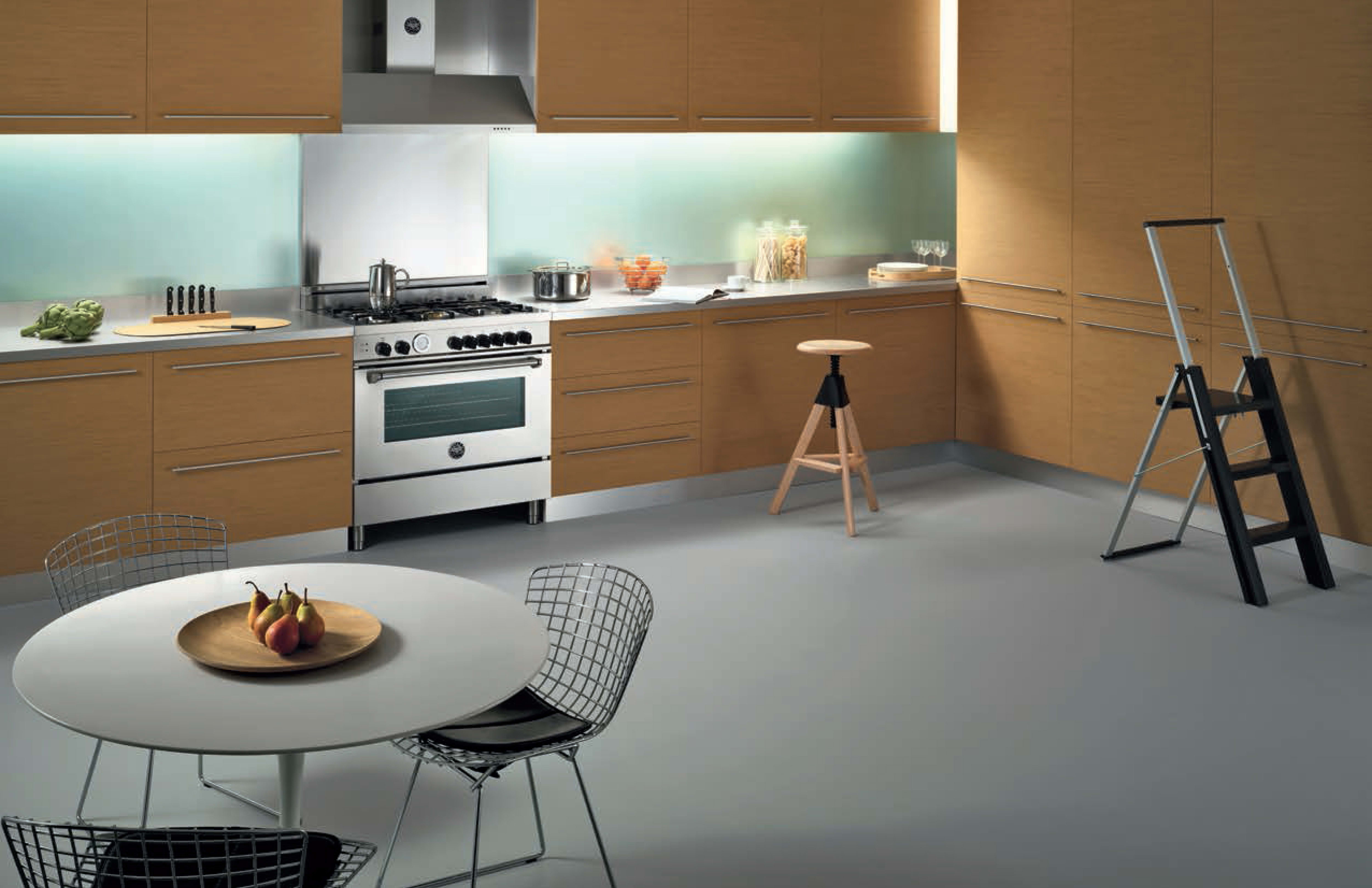 A Transitional Concept Kitchen For Bertazzoniu0027s Master Series.