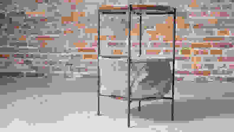 Rivet_Meeks_Round_Storage_Basket_table