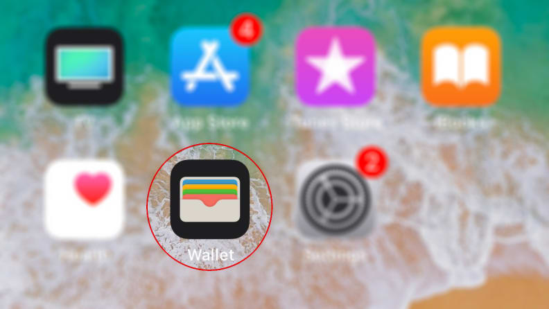 iPhone iOS Wallet App for Apple Pay