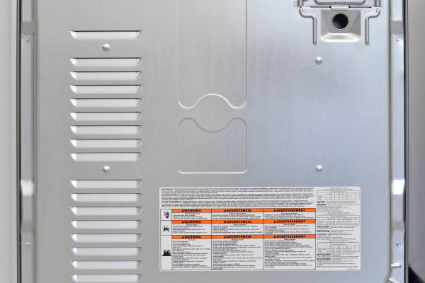 Steam-based functions require you to hook up the water intake found in the back of the Kenmore 69133.
