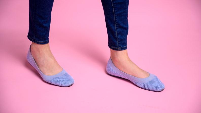 allbirds on the feet