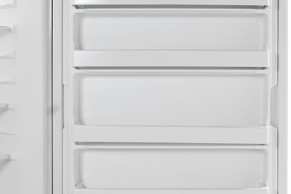 The Whirlpool EV200NZBQ has lots of door storage, and none of it's adjustable.
