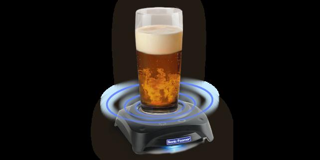 Sonic Beer Foamer