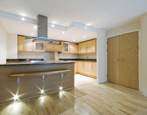 Kitchen Top to Bottom Lighting