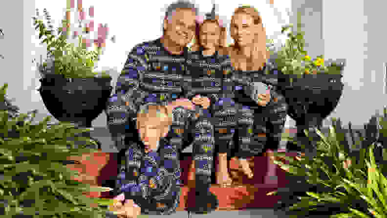 Hanna Andersson is one of the few companies that offers Hanukkah-themed family jammies.