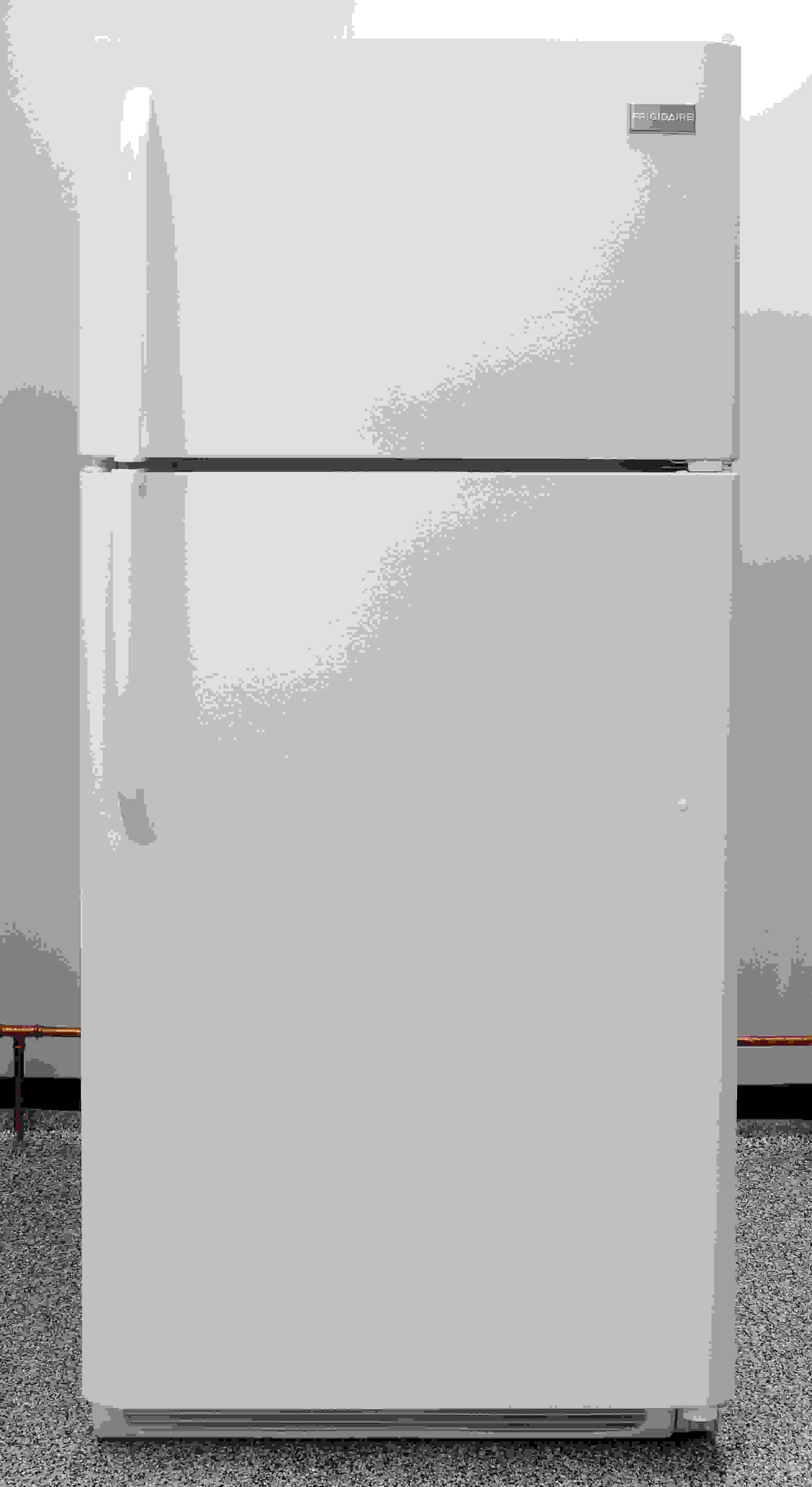 The Frigidaire FFTR1814QW is a basic 18-cubic-foot top freezer.