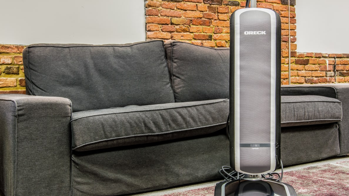 The Oreck Elevate Conquer is lightweight vacuum